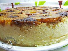 Tarta-bizcocho de piña en microondas (Hacer con relleno de pudin) Microwave Cake, French Toast, Pie, Breakfast, Desserts, Relleno, Food, Ideas, Puff Pastry Recipes