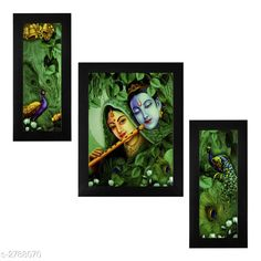 Religious Idols & Paintings Trendy Personal Home Painting Material: Synthetic Size : Frame 1 (L x W) - 6 in x 13 in          Frame 2 (L x W) - 10.2 in x 13 in          Frame 3 (L x W) - 6 in x 13 in Description: It Has 3 Pieces Of Frames With Painting (Glass Is Not Included) Work: Printed Country of Origin: India Sizes Available: Free Size   Catalog Rating: ★4 (346)  Catalog Name: Trendy Personal Home Paintings Vol 1 CatalogID_378367 C128-SC1316 Code: 613-2788070-456