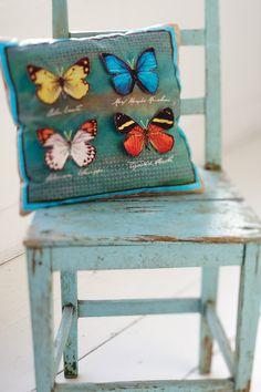PiP Cushion Butterflies