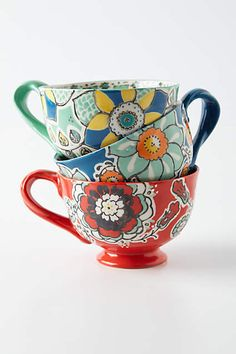Elka Mugs - anthropologie.com