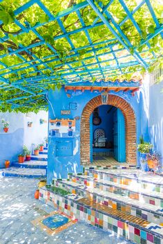 Chefchaouen: The Famous Blue City Of Morocco Also Known As The Blue Pearl. Here's Everything You Need To Know About Chefchaouen. The most effective method to Get There, Where The Famous Blue Streets Are, Where To Stay, And What To Do Blue City Morocco, The Places Youll Go, Places To Go, Wonderful Places, Beautiful Places, Ville France, Morocco Travel, Marrakech Travel, Photos Voyages
