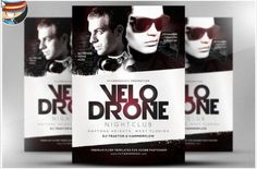 Velo Drone Flyer Template is a premium Photoshop PSD flyer / poster template designed by FlyerHeroes to be used with Photoshop and higher. Business Flyer Templates, Flyer Design Templates, Psd Templates, Cheap Flyers, Club Flyers, Florida, Photoshop, Creative Flyers, Party Flyer