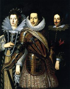 Justus Sustermans, 1597–1681, Flemish painter, ca. 1640 Maria Maddalena of Austria, Cosimo II de Medici