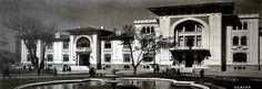 Sene : 1936 Baş vekalet binası.