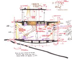 Home Decoration Stores Near Me Section Drawing Architecture, Data Architecture, Architecture Sketchbook, Architecture Graphics, Conceptual Sketches, Plan Sketch, Interior Design Sketches, Architectural Section, Design Development