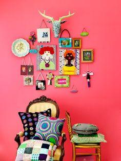 Moça Fresca: Cores de Almodovar, cores de Frida Kahlo, cores...