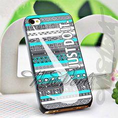 Nike JustDoIt Aztec  iPhone 4/4s/5/5s/5c Case  Samsung by 1newport, $14.75