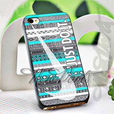 Nike JustDoIt Aztec  iPhone 4/4s/5/5s/5c Case  Samsung by 1newport, $14.75