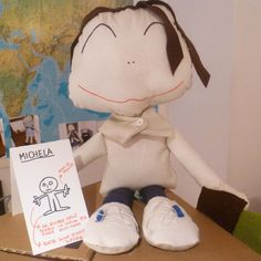 Portrait Puppet: Michela.