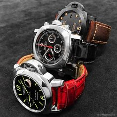 Triple Trouble! Panerai Trio coming in to the club! DM For pricing! . . . . .