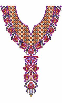 Neck Patterns On Pinterest  Hand Embroidery Designs
