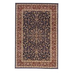 The Conestoga Trading Co. Jennings Navy/Red Area Rug Rug Size: Runner x Aqua Area Rug, Floral Area Rugs, Navy Blue Area Rug, White Area Rug, Beige Area Rugs, Farmhouse Rugs, Cheap Rugs, Black Rug, Rugs Online
