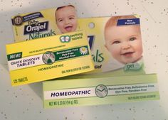 easing teething pain with baby orajel naturals :: review and giveaway
