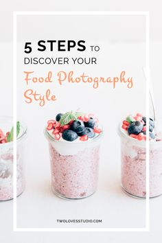 5 Steps To Discover Your Food Photography Style - Two Loves Studio Food Photography Styling, Photography Tutorials, Food Styling, Fashion Photography, Learn Photography, Photography Business, Photo Hacks, Photo Tips, Food Blogs