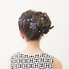 Tropical Orchid Hair Clip from Soho Style
