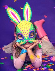 Printable Alebrije masks - Make DIY jaguar, fox, owl and rabbit masks! Sand Crafts, Diy Home Crafts, Paper Crafts, Paper Art, Arts And Crafts For Teens, Arts And Crafts Projects, Games Party, Jaguar, Animal Mask Templates