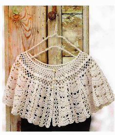 A gentile richiesta...Schemi di scialli semicircolari crochet / Semicircular crochet shawls charts