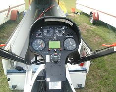 "Panel on LS8-18 Racing Sailplane ""IS"""