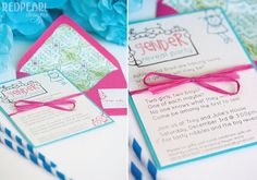 Gender Reveal Party Invitation by redpearldesigns on Etsy