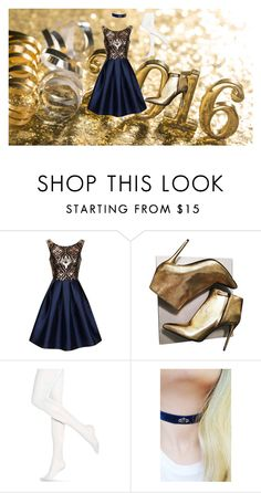"""Untitled #15"" by parispoodlefashion on Polyvore featuring Chi Chi, Alexander McQueen, Hue and Wanderdusk"