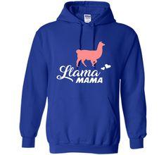 FUNNY LLAMA MAMA T-SHIRT Pet Farm Animal Lover Gift cool shirt