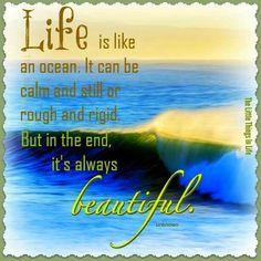 Life is like.
