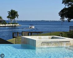This is a great example of Cape Coral pool homes and the incredible views of the Gulf of Mexico, Fort Myers and Sanibel Island that some of these million dollar homes have. Capecoralcentral.com allows you to search for pool home and condos with one easy click.