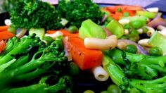 Healthy vegetarian stir fry