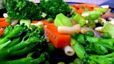 Healthy vegetarian stir fry