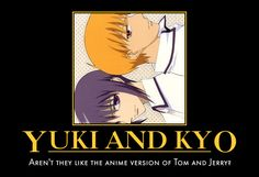 Yuki and Kyo Meme by CutieAngel999.deviantart.com on @deviantART  Yes, yes they are.