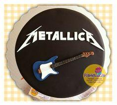PasteLucas: Metallica cake!!