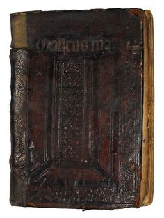 The infamous Malleus Maleficarum ( The Hammer of the Witches ) ca. 1508 - 1515, housed at the University of Glasgow Library.  keywords: witch, Inquisition, satan, demons, wicca, occult, oddity, devil, antiquarian book, binding, evil, religion, history, politics, burning, warlock, christian, church, magic