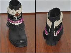 Image result for diy decorar botas