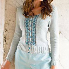 Tyrolean Cardigan in The Knitter Issue 63
