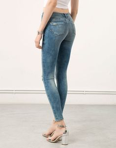 Bershka Colombia - Jeans Skinny Push-up Bershka
