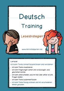 Deutsch Training Lesestrategien                                                                                                                                                                                 Mehr