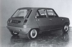 OG | 1972 Renault 5 - Project 139 | 5-door study (note the half proposal on each side of this mock-up)