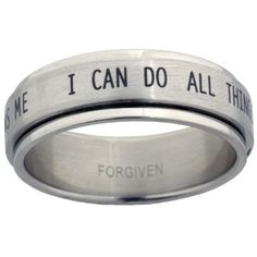 I Can Do All Things Spinner Ring (#FJ-RSS7) | Men's Rings on ChristianJewelry.com  also like this one
