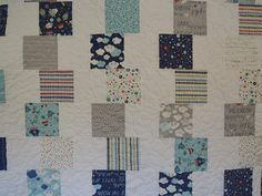 Super Simple Block Tower Stellar Baby Quilt Pattern Tutorial, pdf, with photos, Make with Charm Packs Charm Pack Quilt Patterns, Boys Quilt Patterns, Charm Pack Quilts, Charm Quilt, Easy Patterns, Geometric Patterns, Quilt Blocks Easy, Easy Quilts, Quilt Baby
