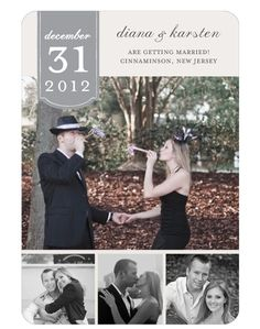 New Years Wedding Save The Date Photography By Www Ellaluphotography