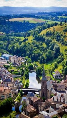 Auvergne, France--where the Brat Prince himself hails from. I must see it. #princelestat