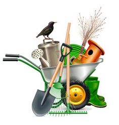 Garden Vector Images (over Garden Tool Storage, Garden Tool Set, Fruit Tree Nursery, Garden Clipart, Japanese Rock Garden, Snails In Garden, Garden Hoe, Party Cartoon, Garden Equipment