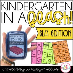 This resource is a growing mega bundle of 50 sets of flashcards for use in the kindergarten and first grade classrooms. Each set can be used to address a variety of skills, from phonics to writing to decoding to letter recognition and MORE! They're the perfect teacher tool because they're easy to prep, versatile, inexpensive and can accompany just about anything you're doing in your ELA curriculum. Use them during guided reading, small group instruction, intervention, partner practice or individ