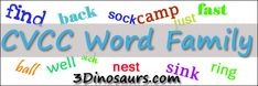 "Free CVCC Word Family Printables ""-all"", ""-ell"", ""-ill"", ""-oll"", & ""-ull"". - Cards & Writing Sheets, Playdough Mats, Coloring Pages, Coloring Cards, Packs and Dot Marker Words"