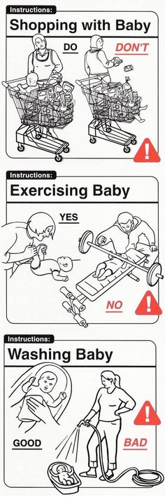 You'd think this stuff would be common sense BUT these people never seem to amaze me!