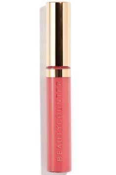 Beautycounter Lip Gloss in Peony, $26, beautycounter.com Harper's Bazaar 10 Best Summer Lip Glosses