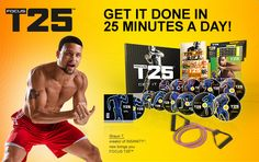 The Focus T25 Workout Program is created by Shaun T, one of the world's most well-known Workout Instructor and Trainer. Shaun T had been creating many successful workout videos since 2007 such as the Hip Hop Abs, Rockin' Body and Insanity Workout Program.  With an excellent workout program like The Focus T25, you are confirmed to pack on at least a few pounds of muscle mass and burn of those stubborn belly fats in your body.