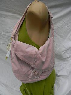 Pink Light velvet purse by mermaiddesignsstore on Etsy, $25.00