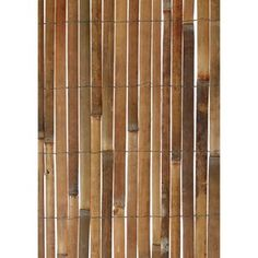 Split Bamboo Privacy Screen