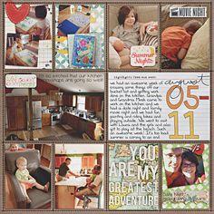 Project Life - Week 32 - Right - Scrapbook.com